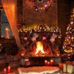 Come Addobbare Il Camino A Natale