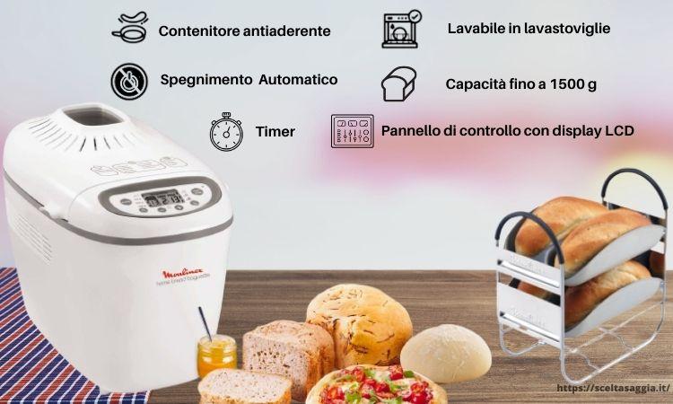 macchina del pane moulinex